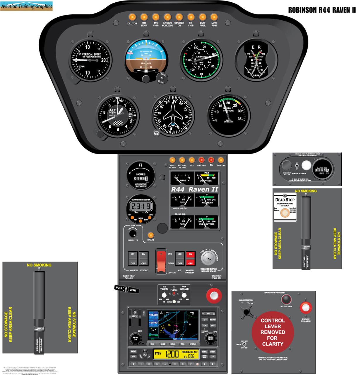 Robinson R44 Raven II Poster