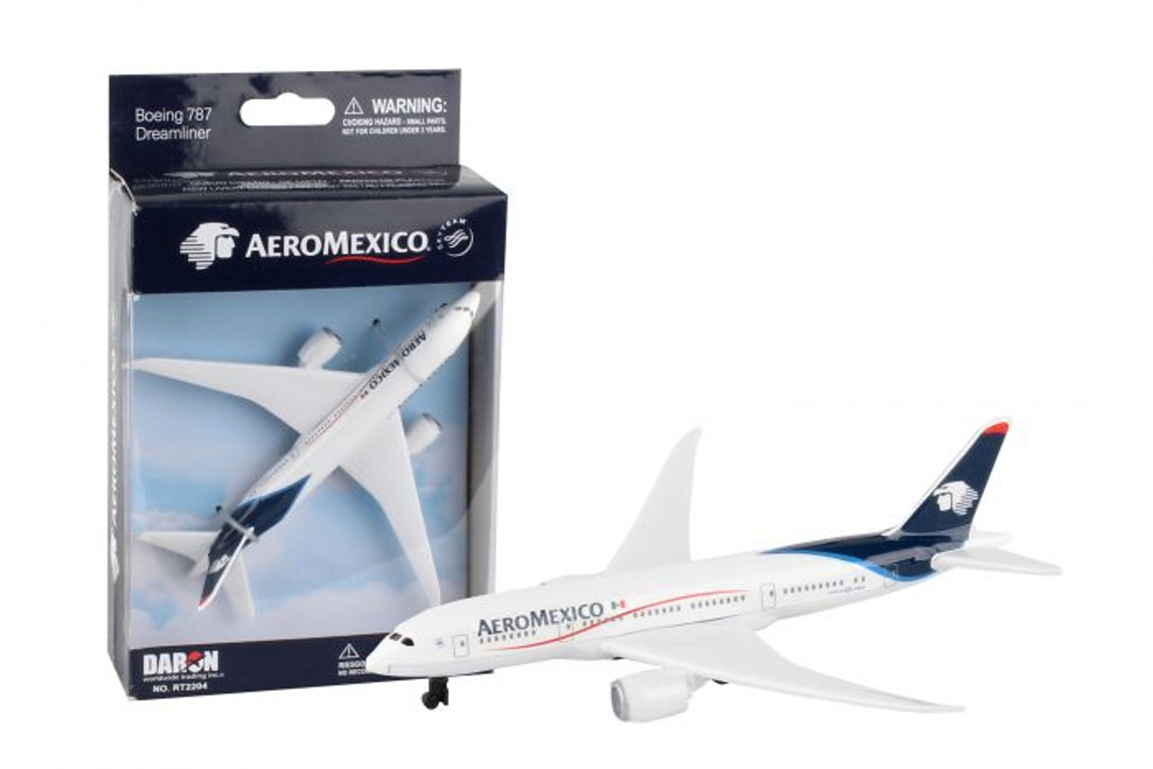 Aeromexico Single Plane