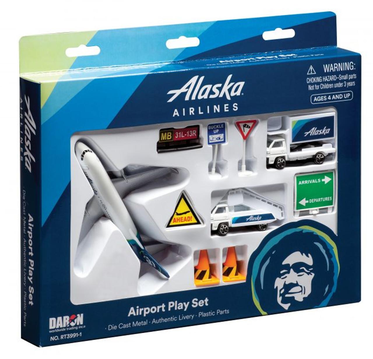Alaska Airlines Playset