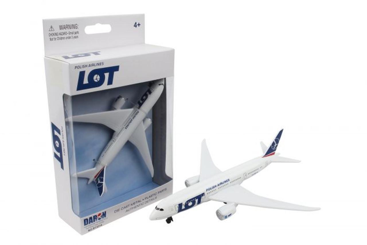 LOT Polish Airlines Single Plane