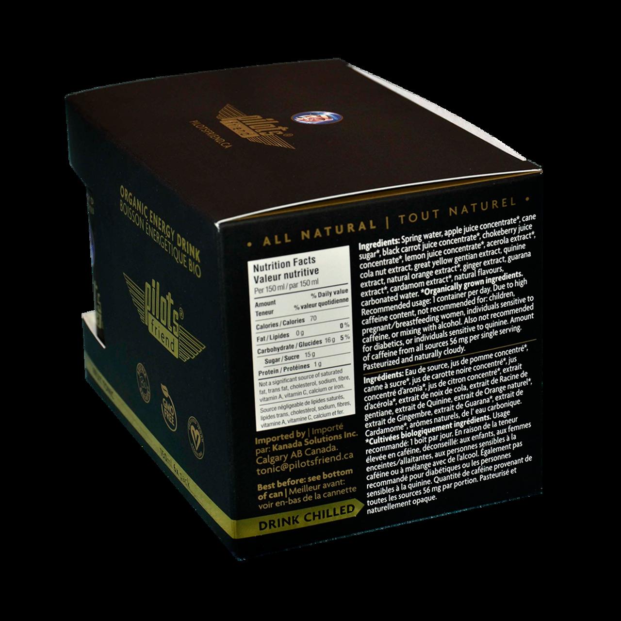 Pilots Friend Energy Tonic Drink (6 pack)