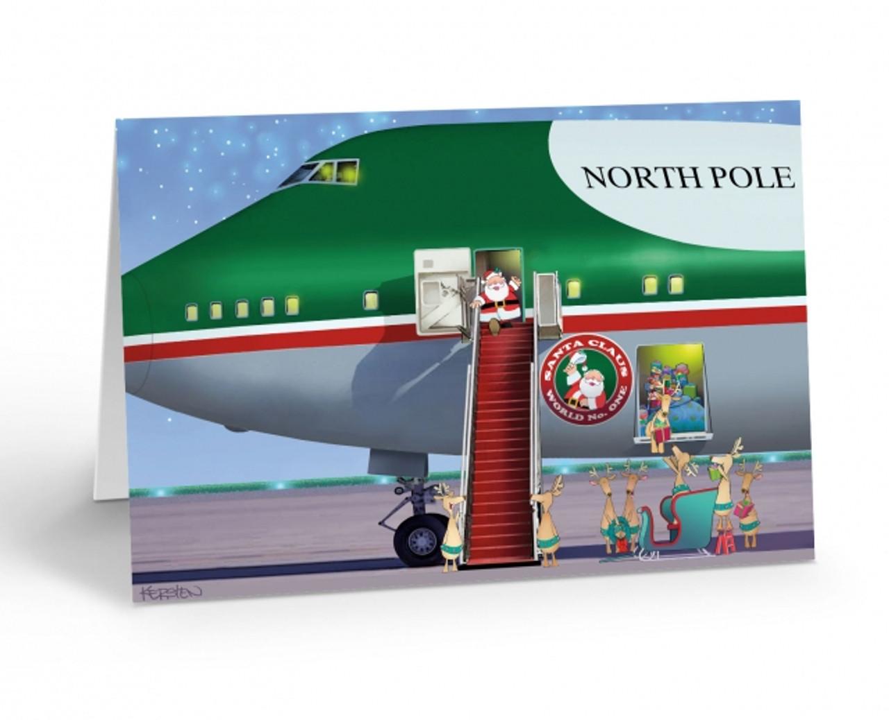 """Santa Claus One"" Christmas Card Pack"