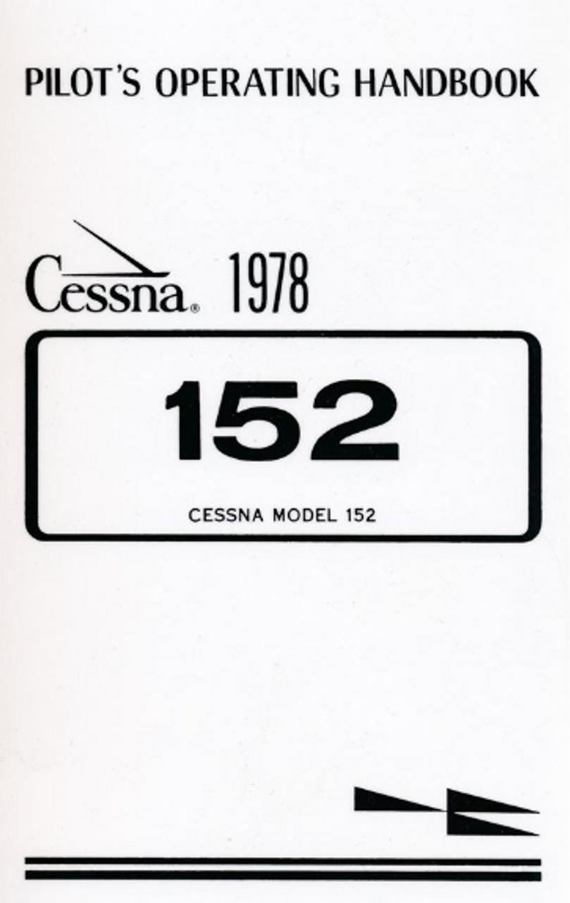 Cessna C-152 (1978) Pilot Operating Handbook