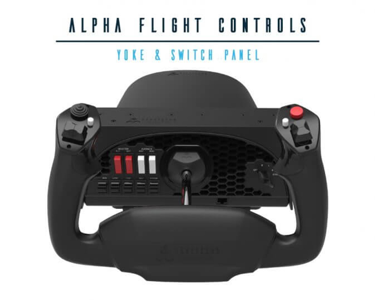 Honeycomb Alpha Yoke Flight Controls