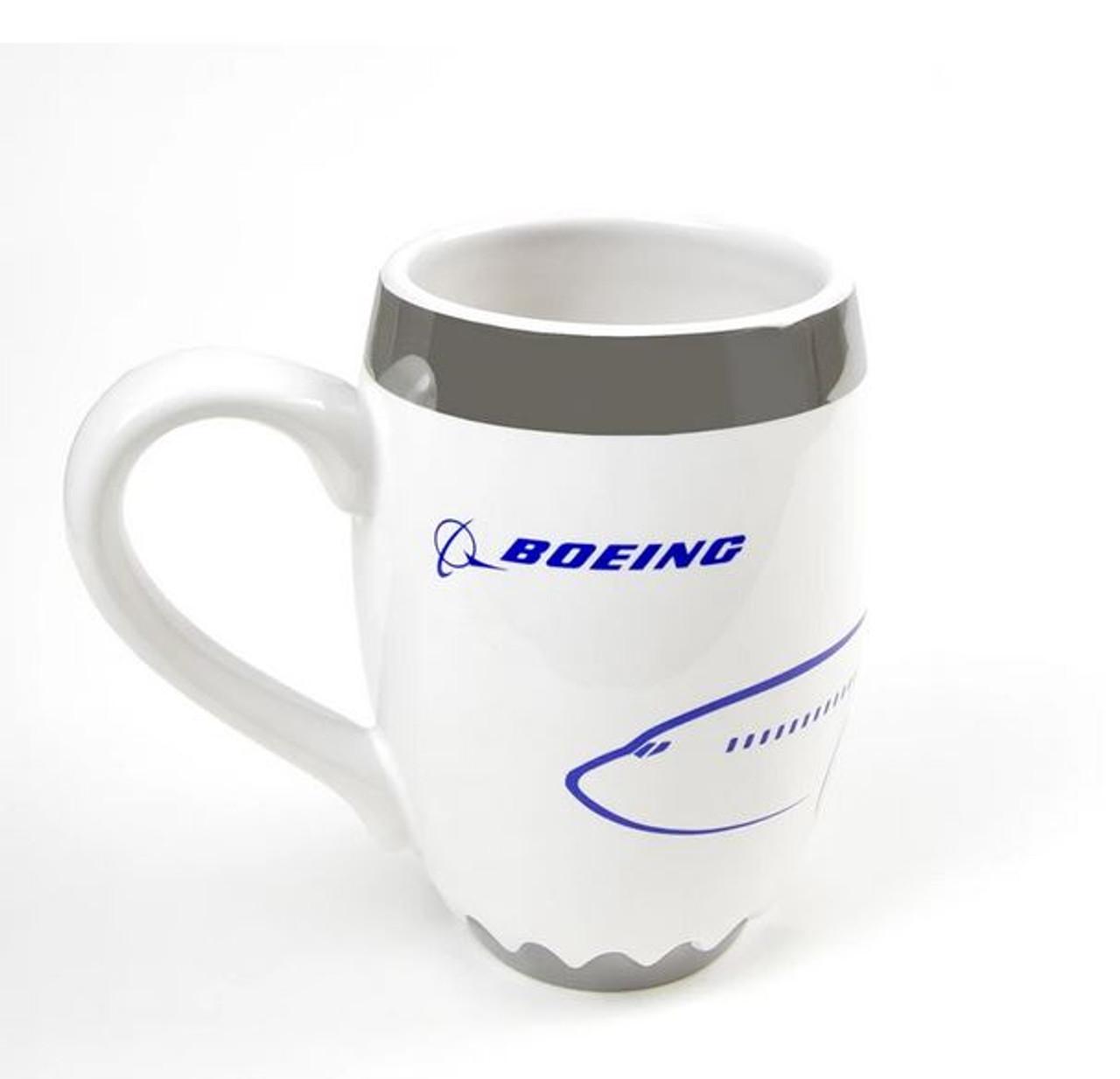 Boeing Unified 737 MAX Engine Mug