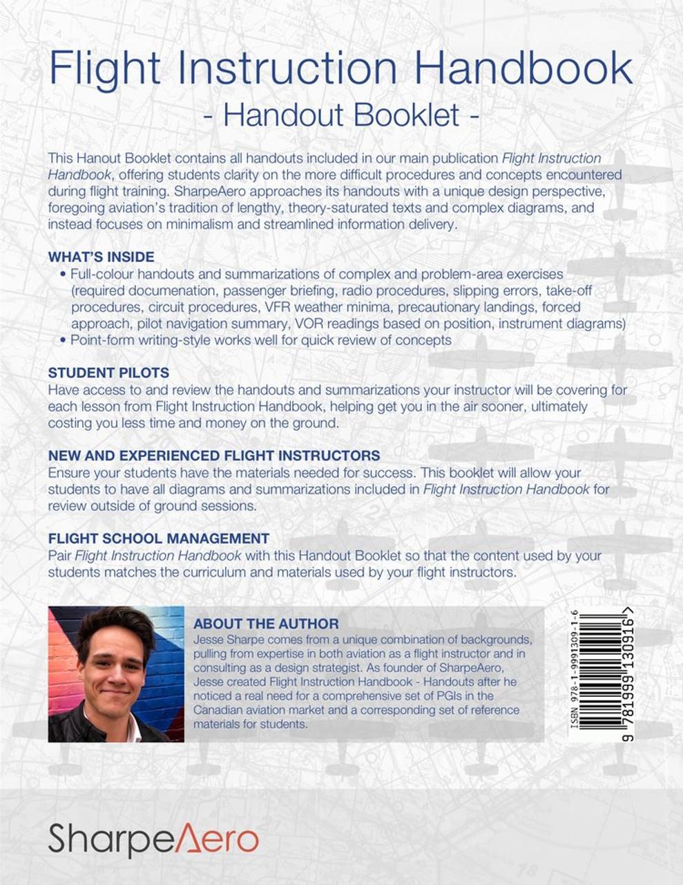 SharpeAero Flight Instruction Handout Booklet
