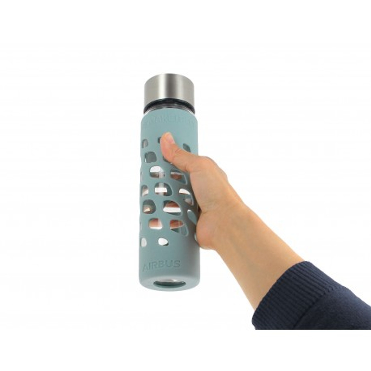 Airbus Glass Water Bottle