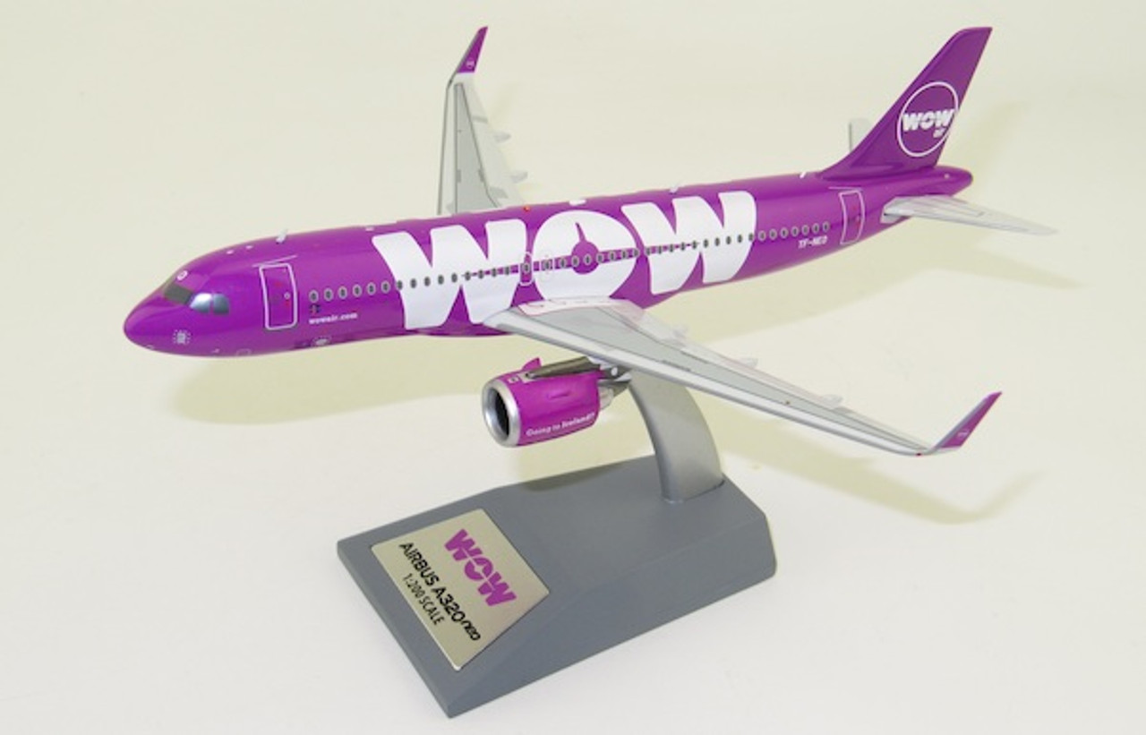 Inflight200 1:200 WOW Air A320 NEO