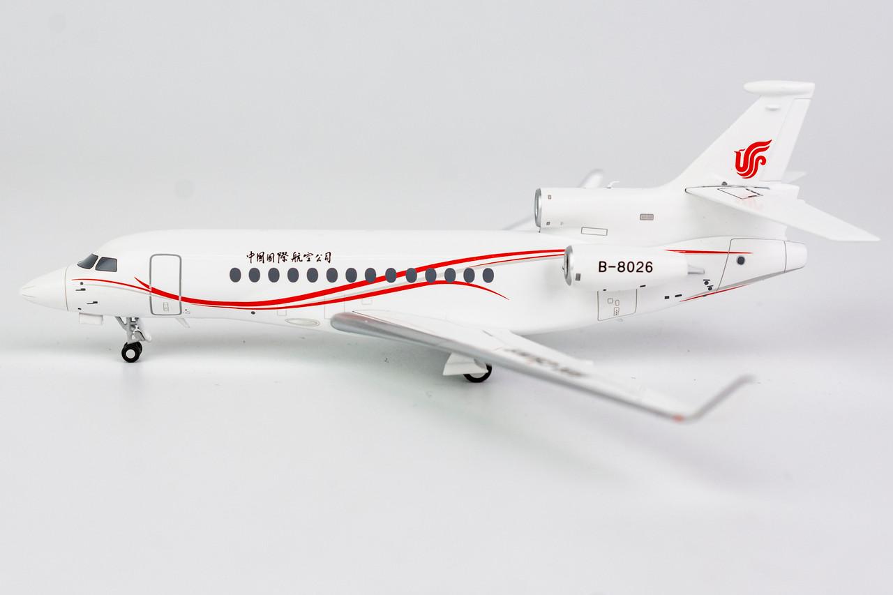 NG Models 1:200 Air China Falcon 7X (B-8026)