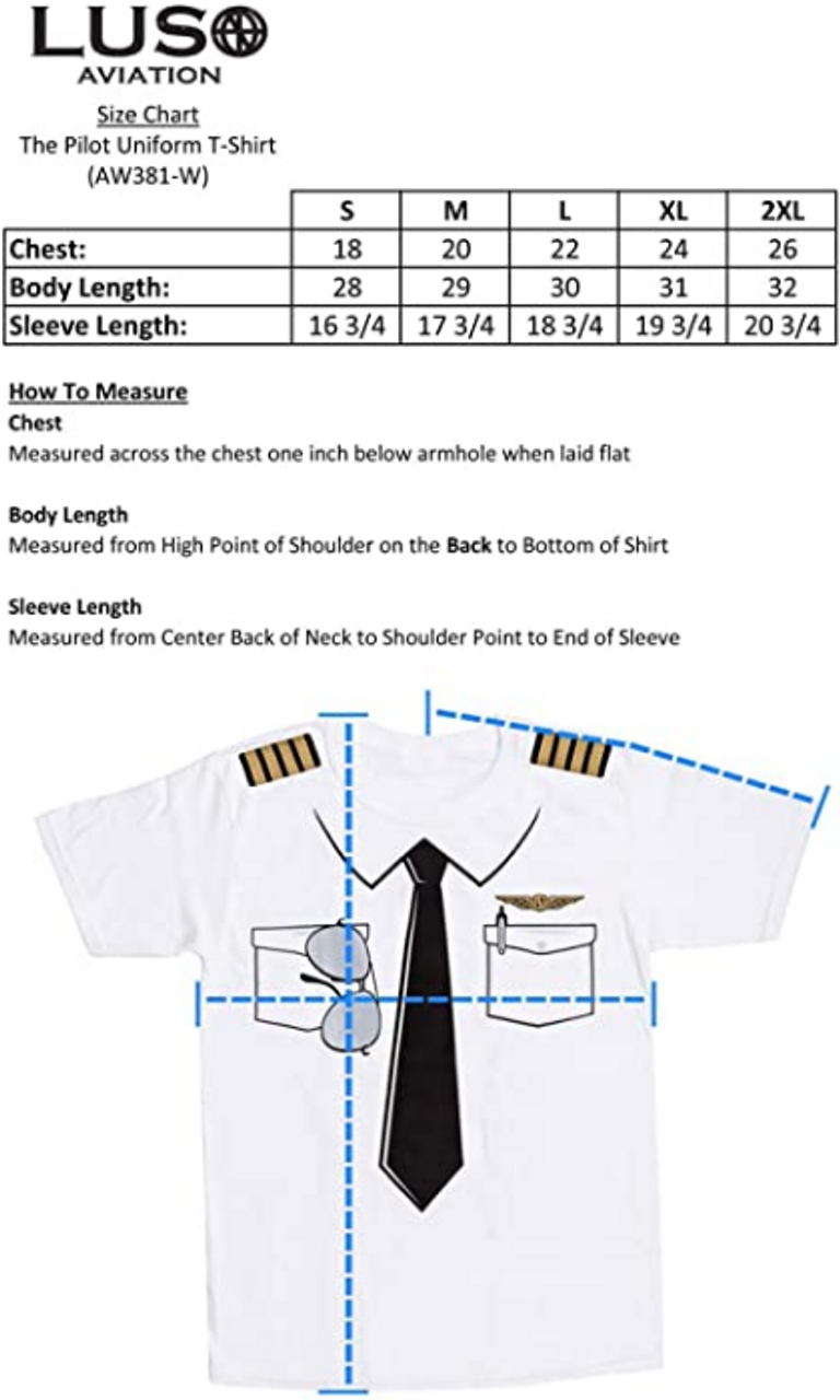 """Pilot """"Uniform"""" Shirt (634385769681)"""