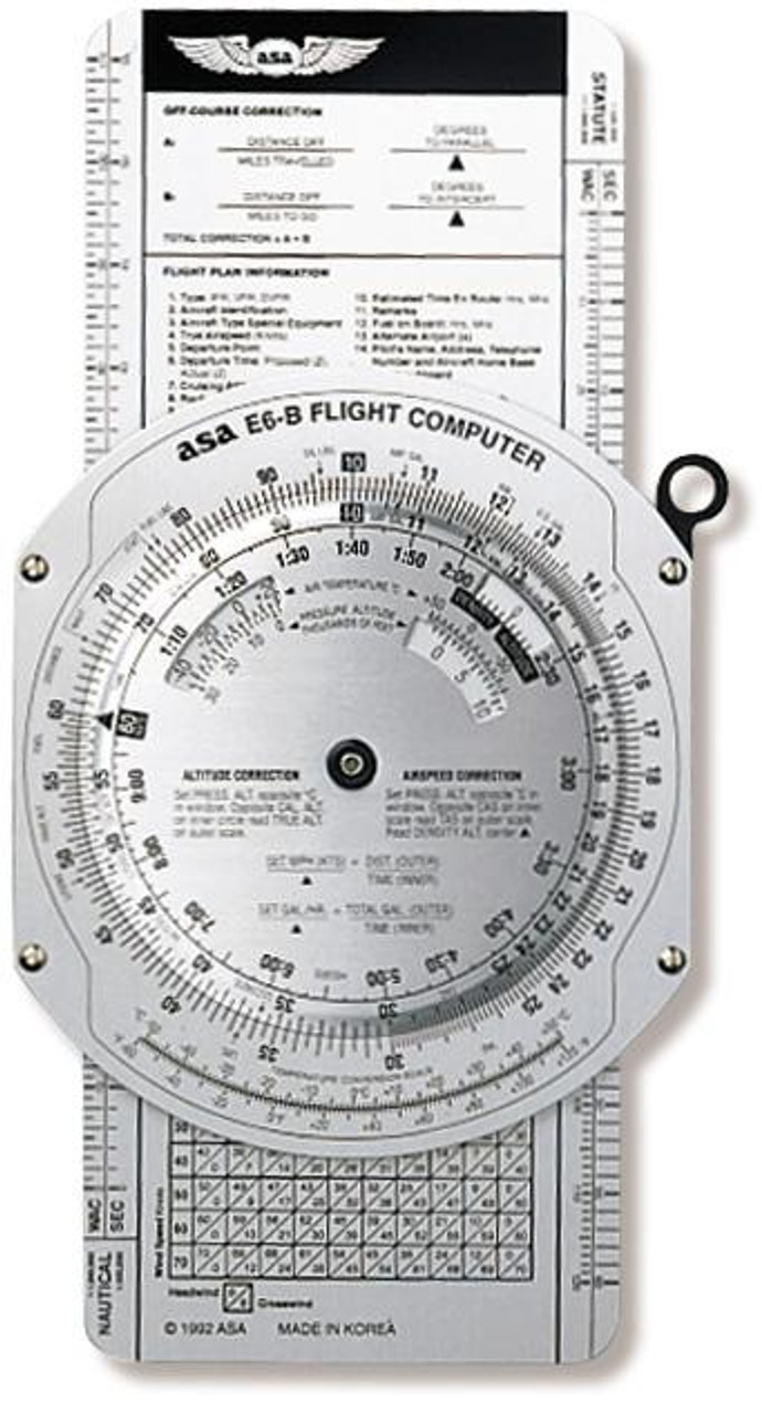 E6B Metal Flight Computer from ASA
