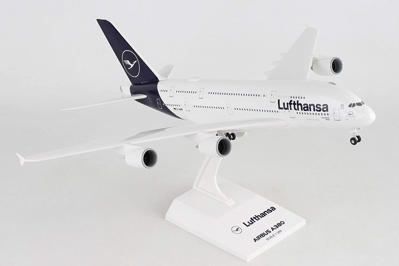 Skymarks Lufthansa A380 New Livery