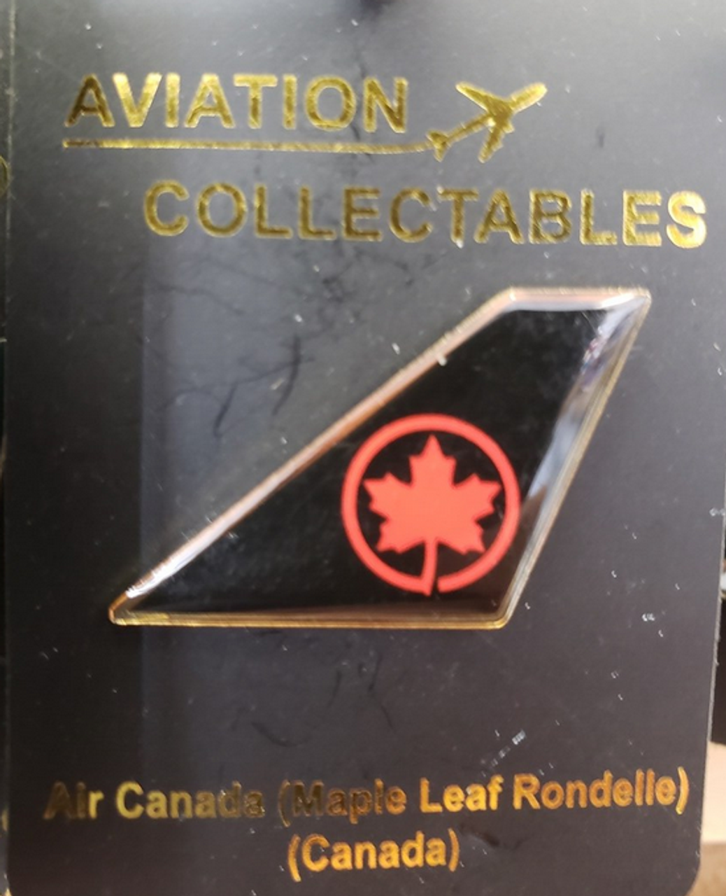 Lapel pin - Air Canada New Livery Tail