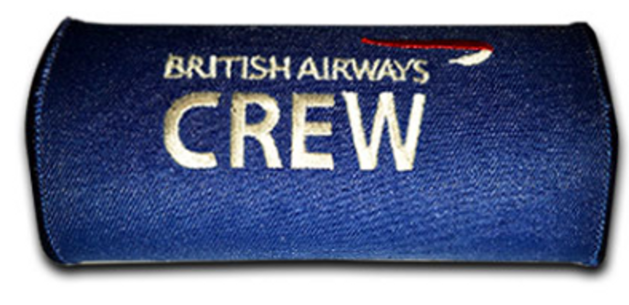 British Airways Embroidered Handle Wrap