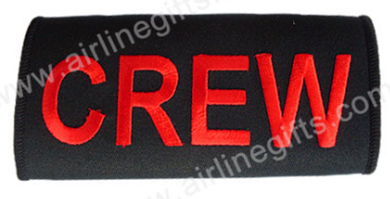 CREW Embroidered Handle Wrap (Black)