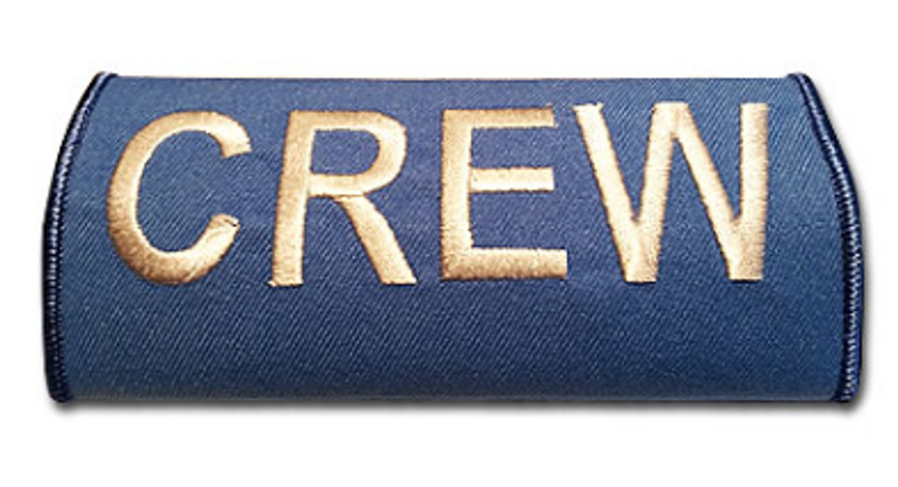 CREW Embroidered Handle Wrap KLM (Blue)