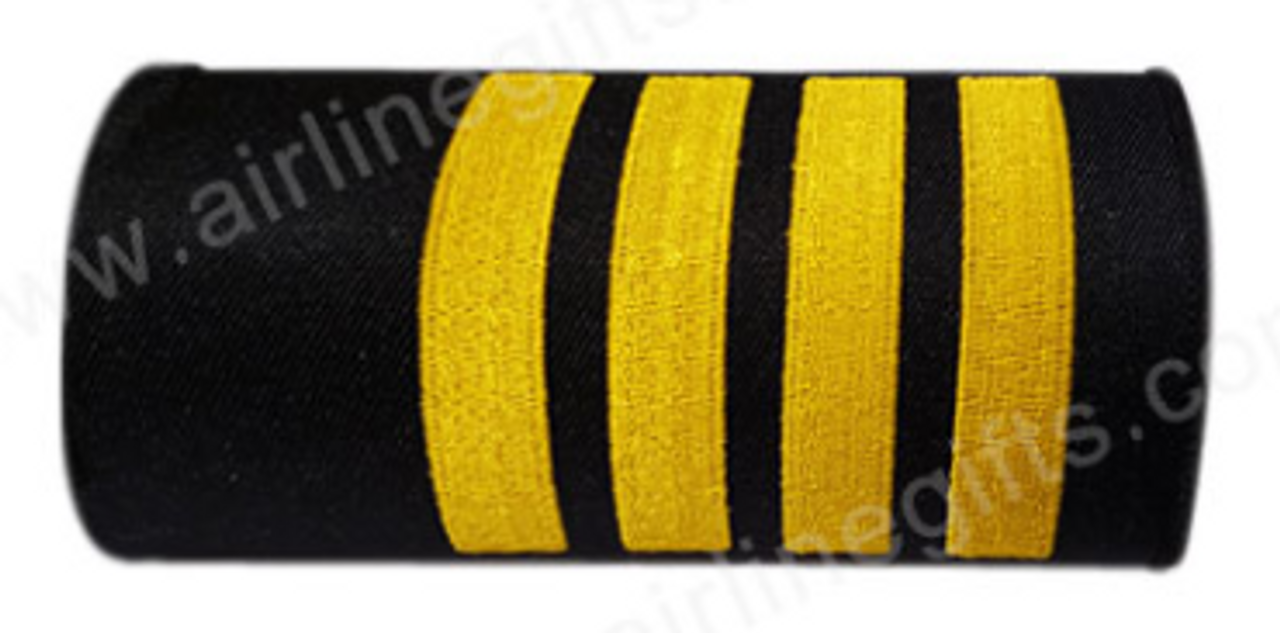 Pilot 4 Stripes Embroidered Handle wrap