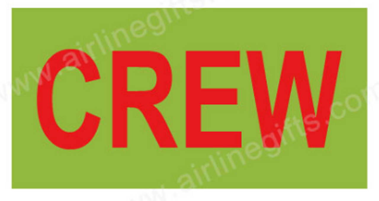 CREW Embroidered Handle Wrap (Lime)