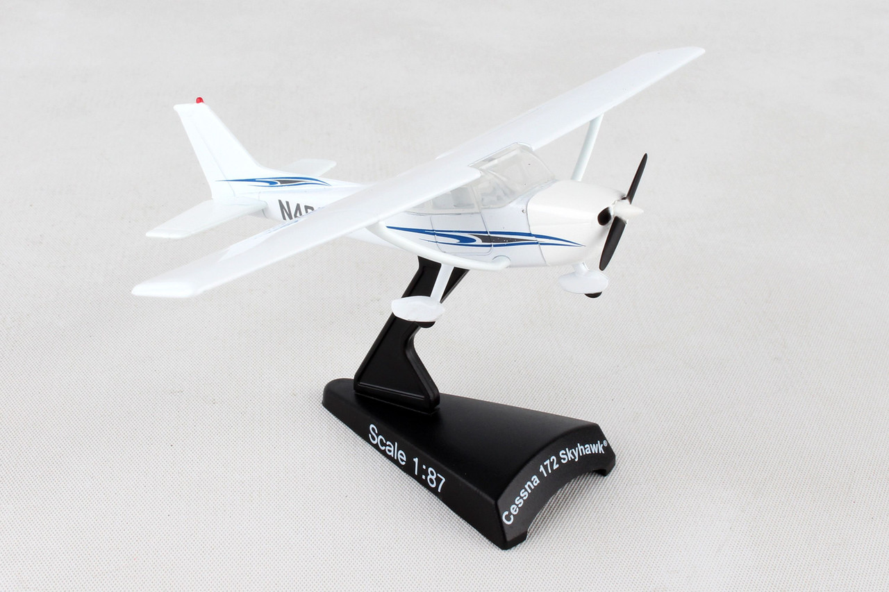 Postage Stamp Collection - Cessna 172 Skyhawk 1:87