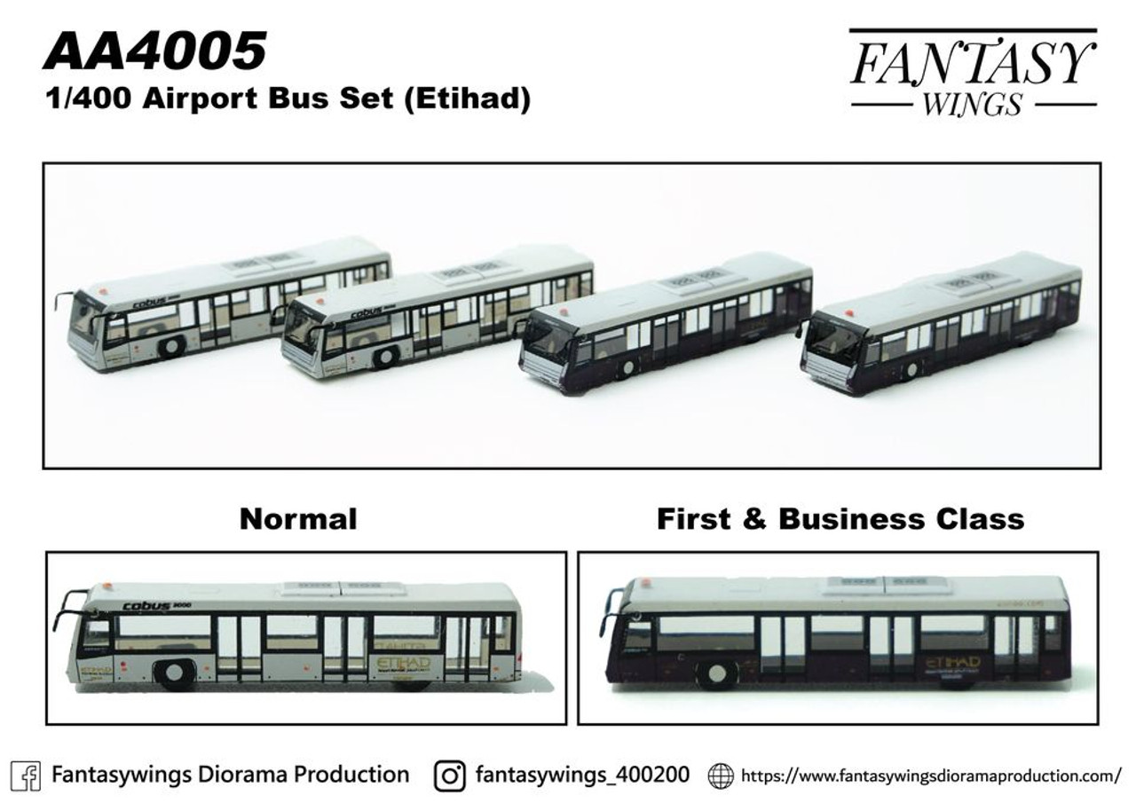 Fantasy Wings Etihad Bus Set