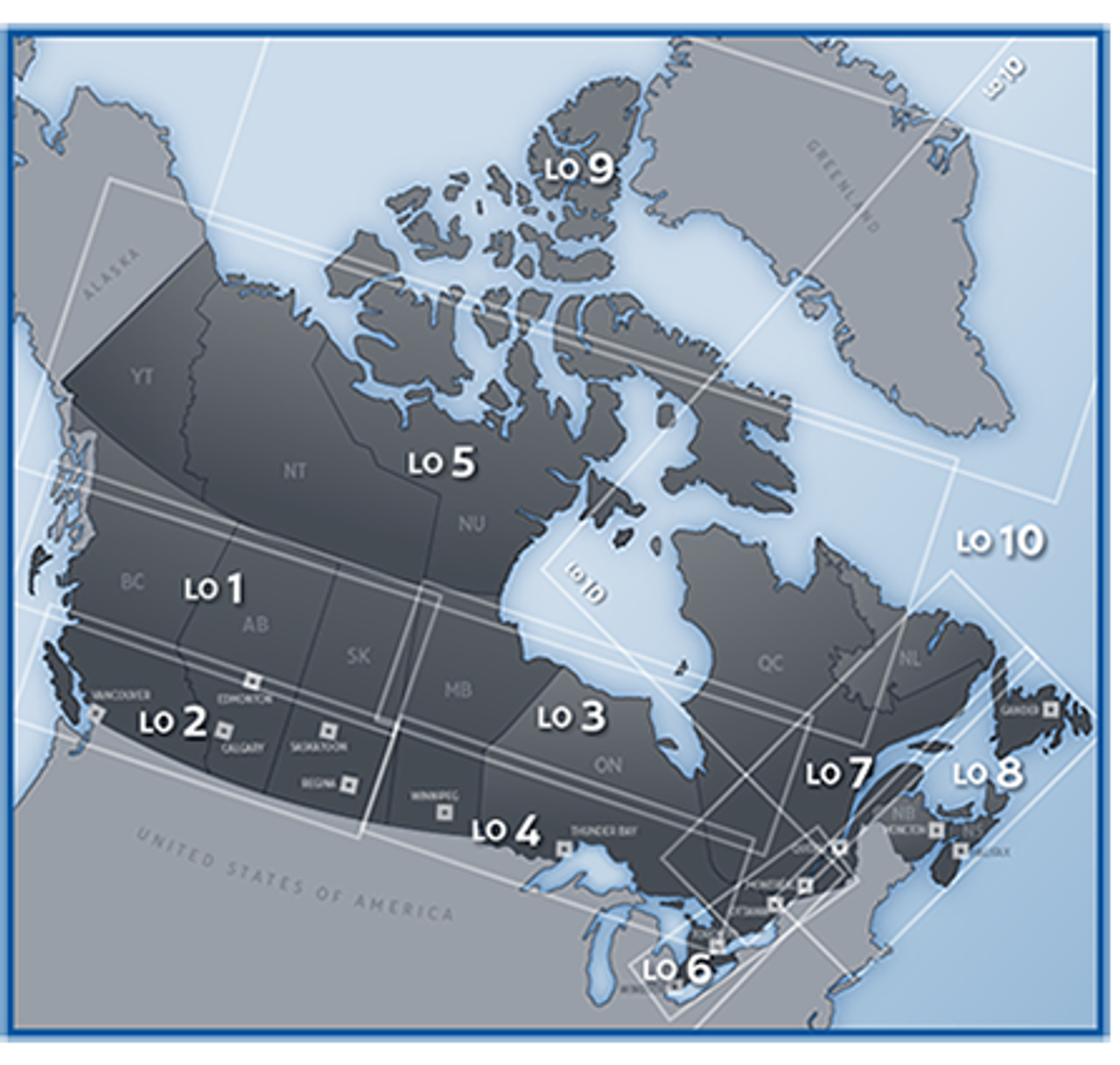 Canada Enroute Low Altitude IFR Charts
