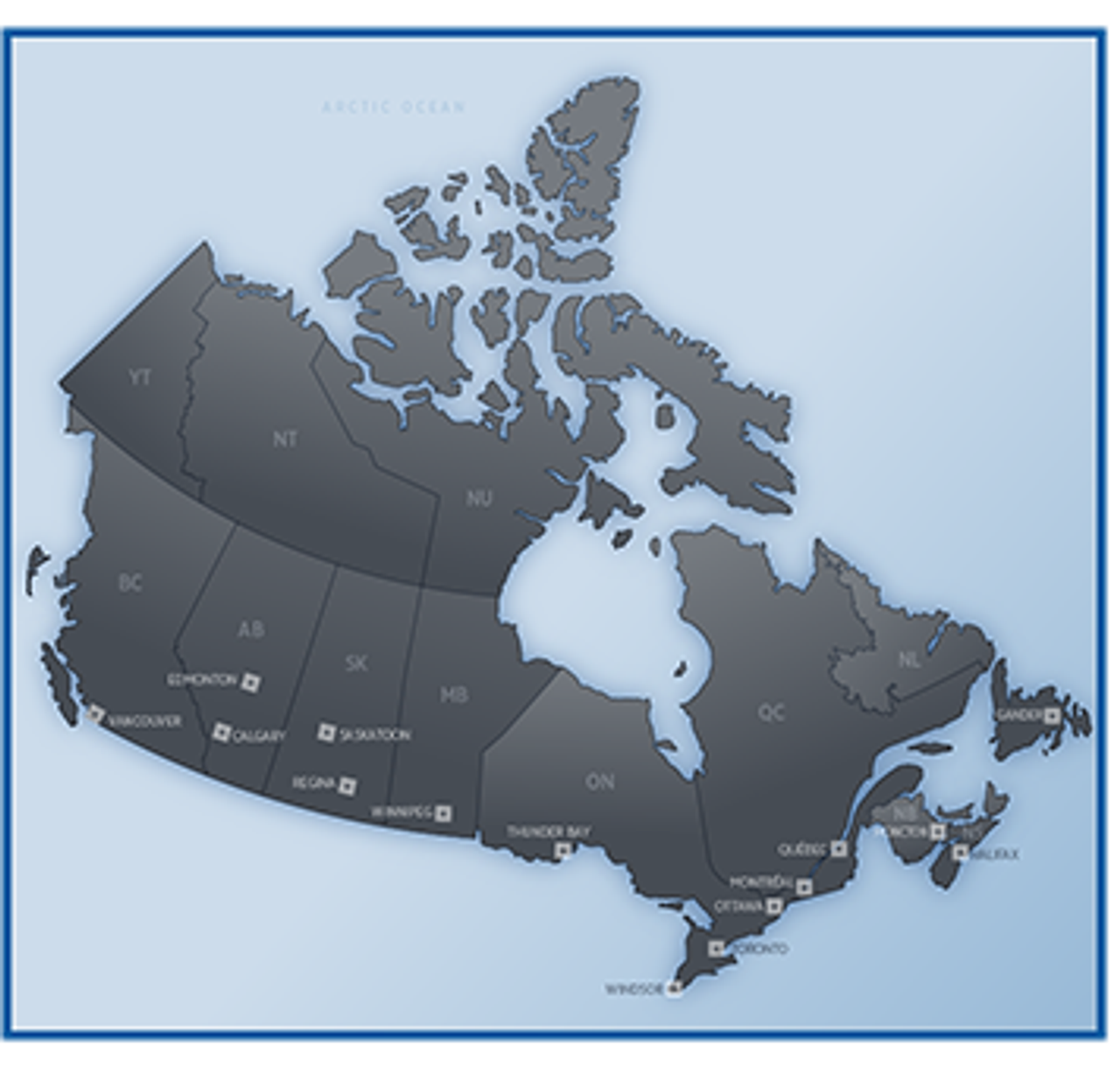 Canada IFR Terminal Area Chart