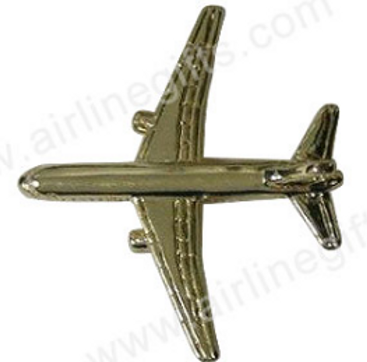 Lapel pin - Boeing 757 - Gold Finish