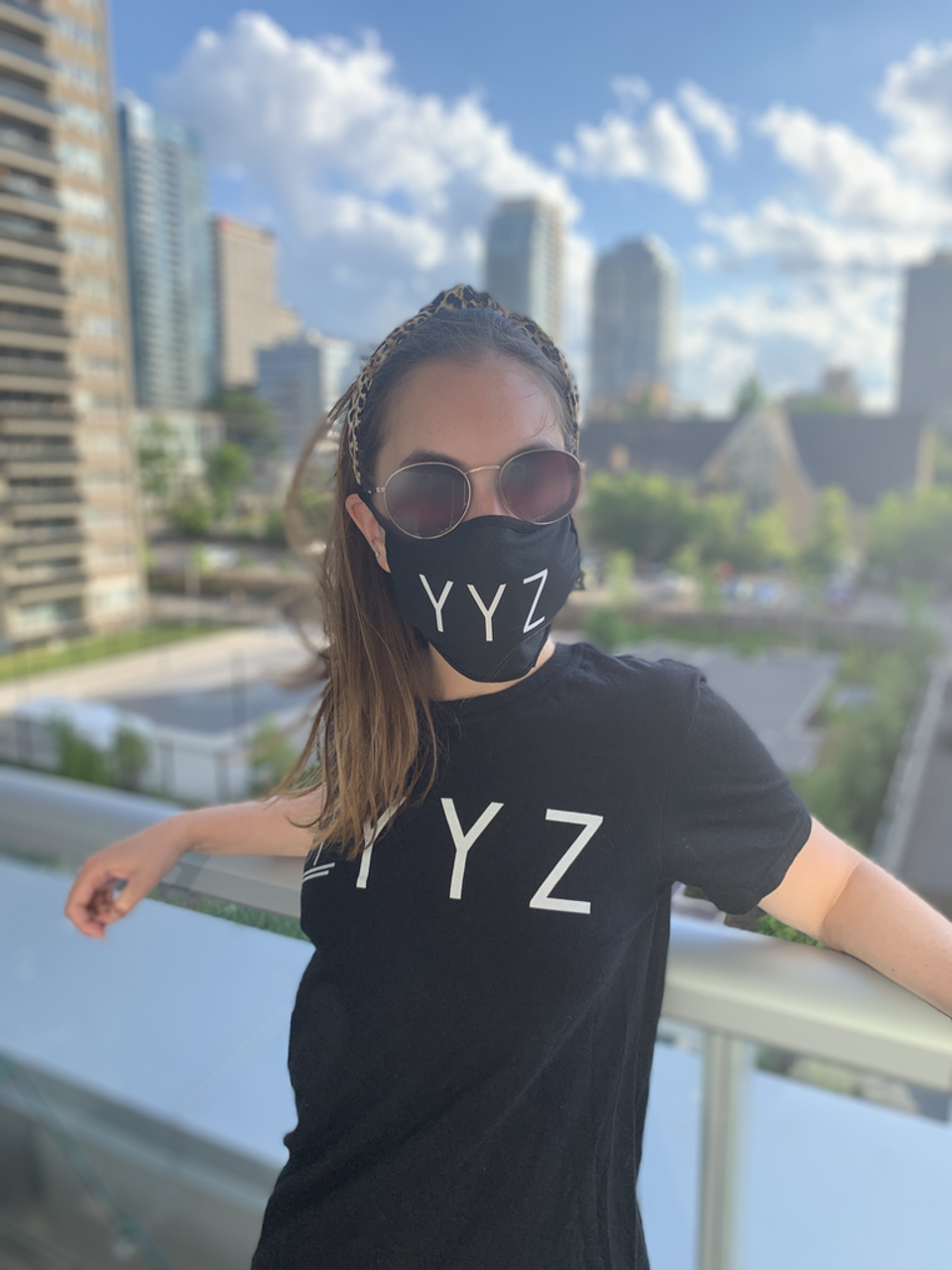 YYZ Reusable Fabric Mask