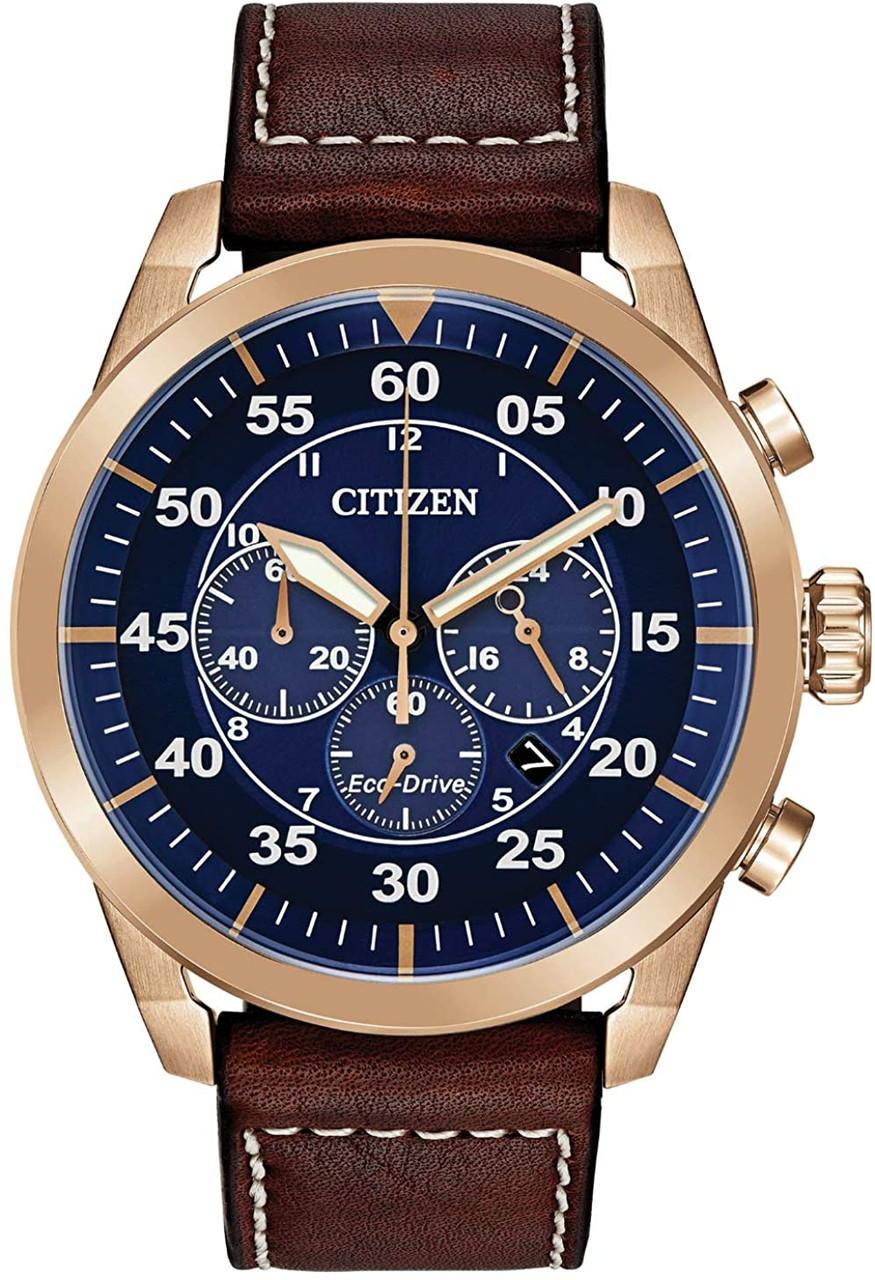 Citizen Avion Chronograph -  Rose Gold