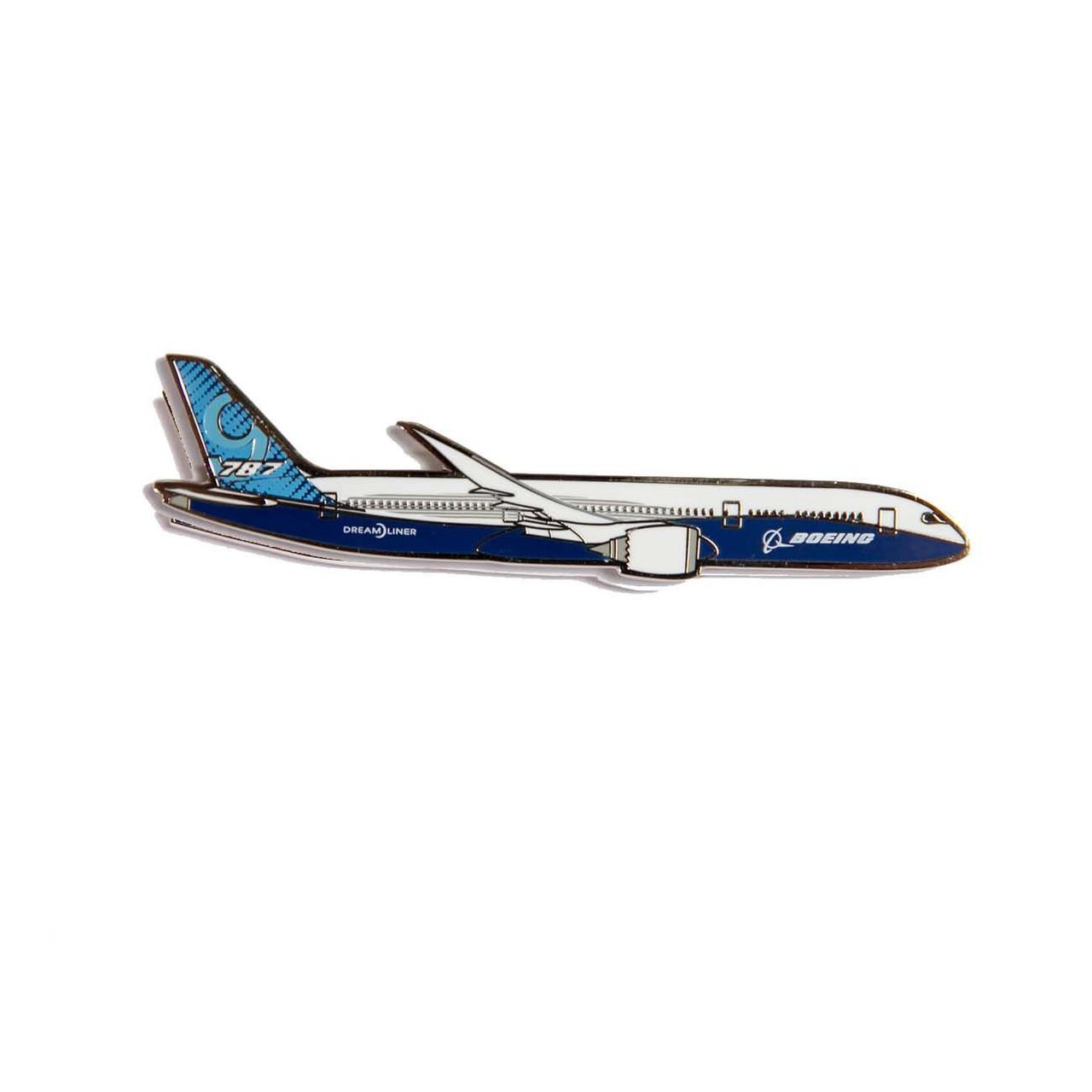 Boeing 787 Illustrated Magnet