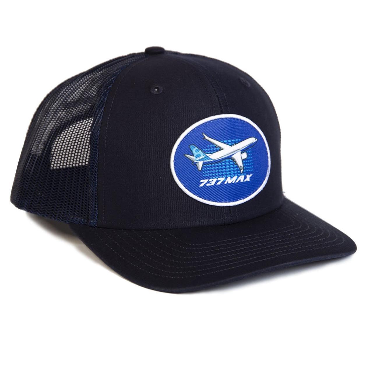Boeing 737 MAX Illustrated Cap