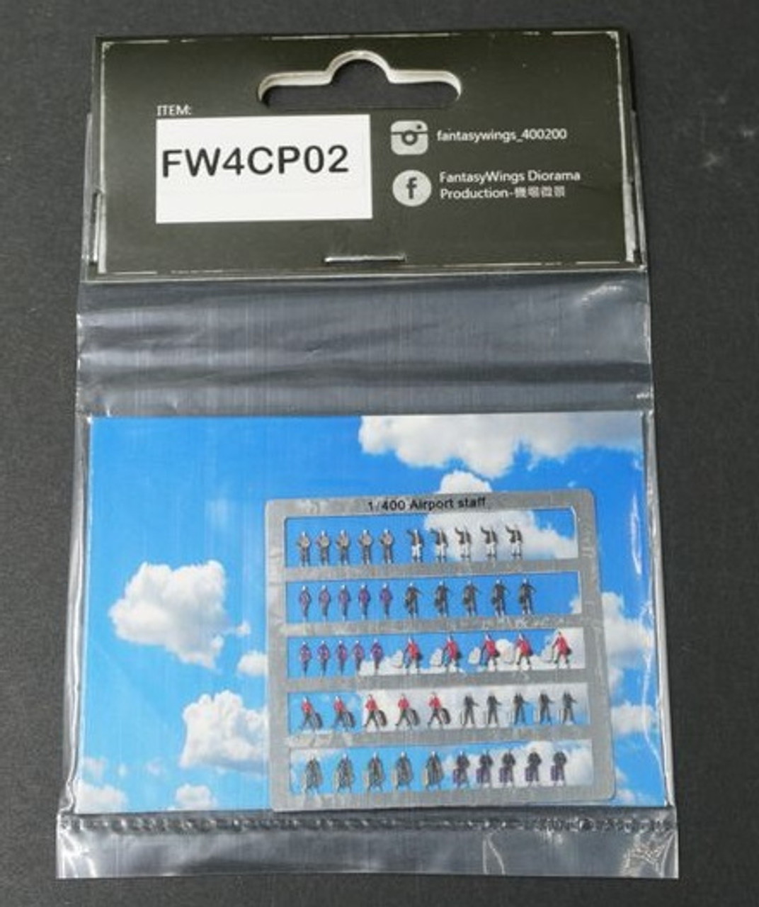 FantasyWings 1/400 Scale Airport Staff