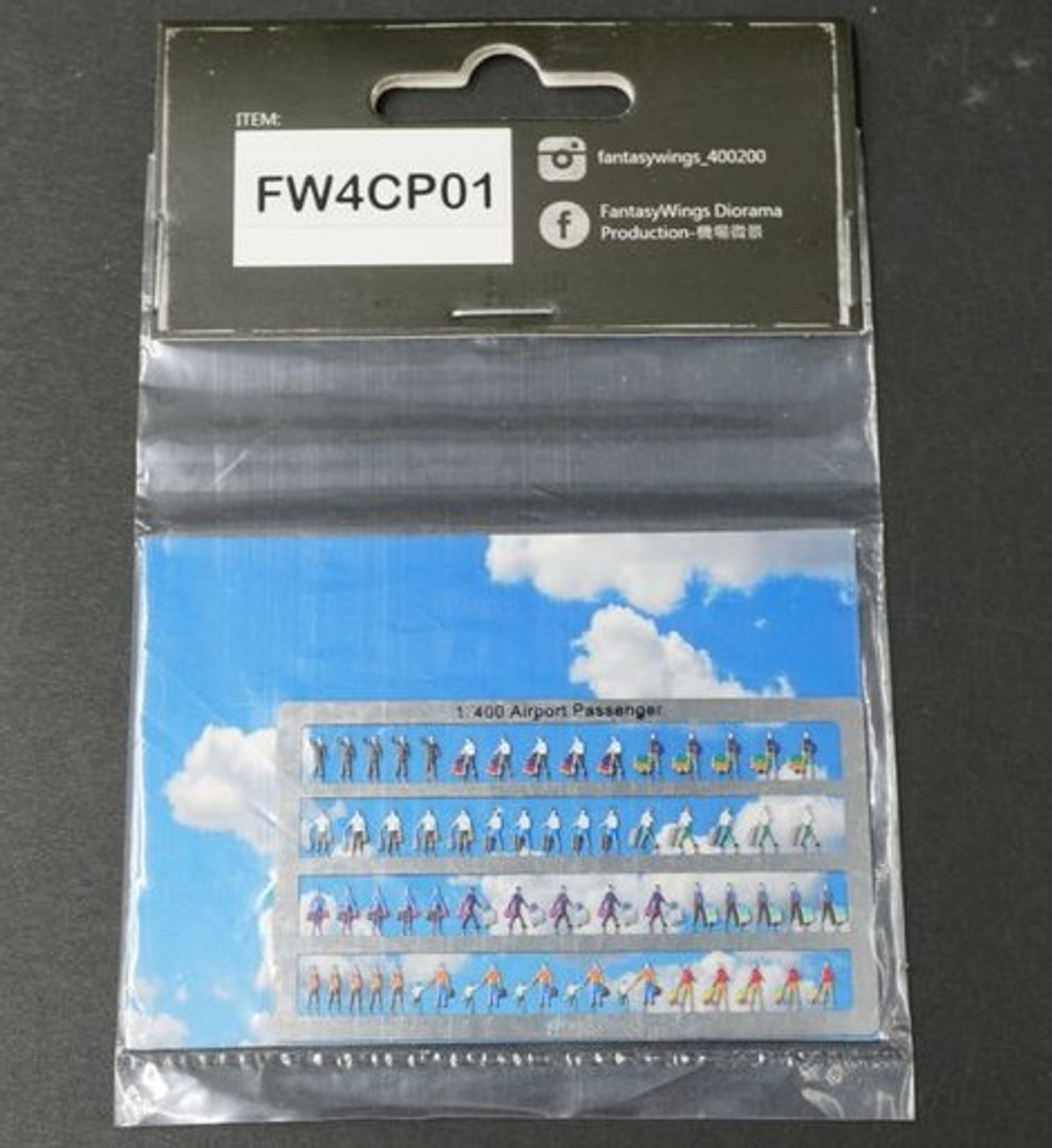 Fantasywings 1/400 Scale Airport Passengers
