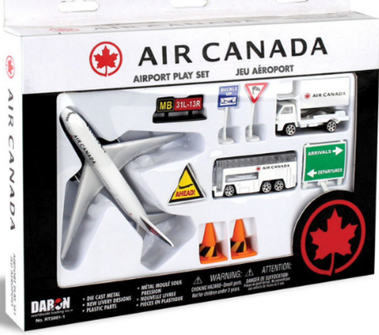 Air Canada Airport Playset