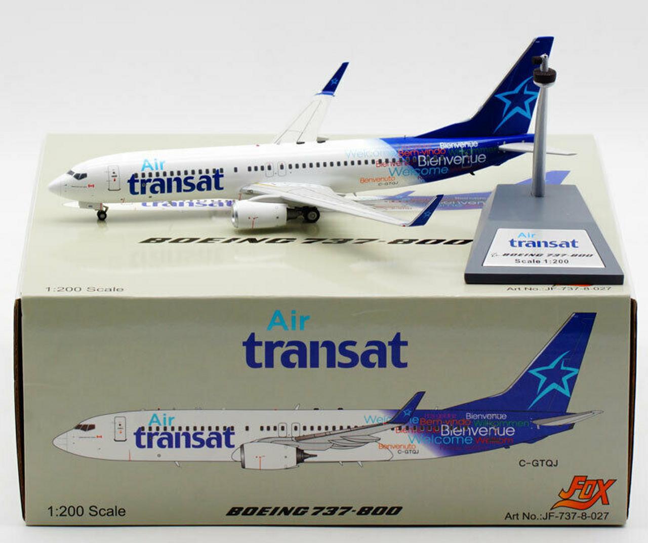 Inflight200 1:200 Air Transat 737-800