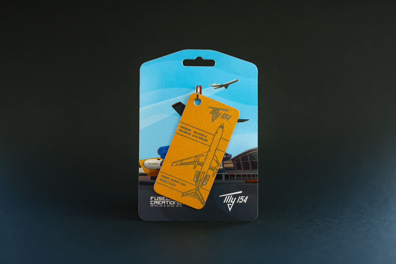 Fuselage Creations TU-154 Key Tag