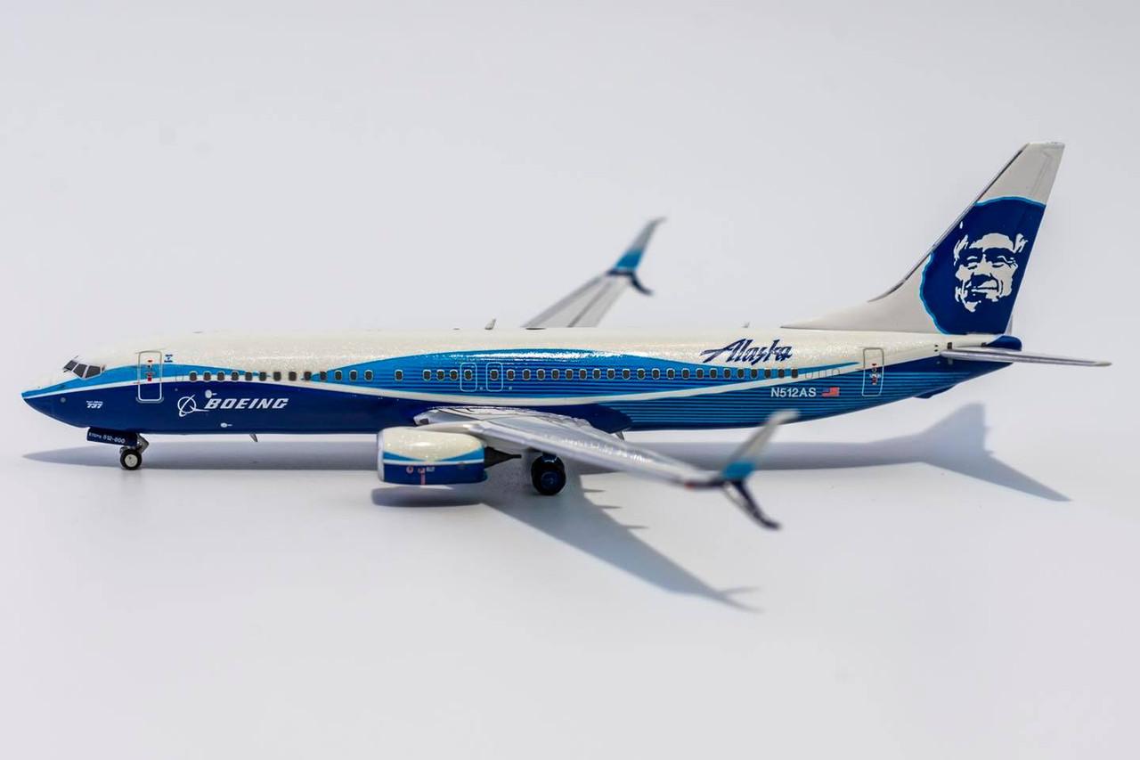 """NG Models 1:400 Alaska Airlines 737-800 """"Spirit of Seattle"""""""