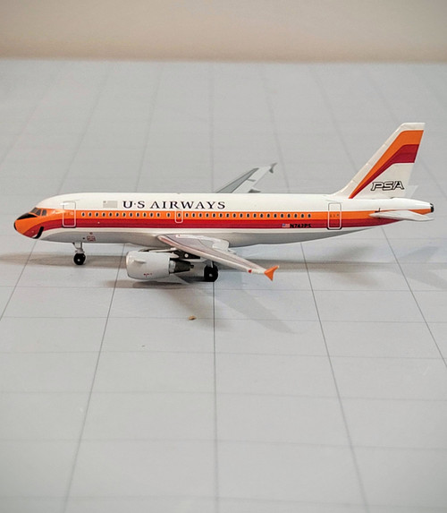 Bluebox 1:400 US Airways A319 (PSA Retro Jet)