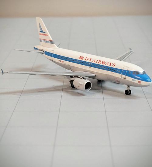 Bluebox 1:400 US Airways A319 (Piedmont Retro Jet)
