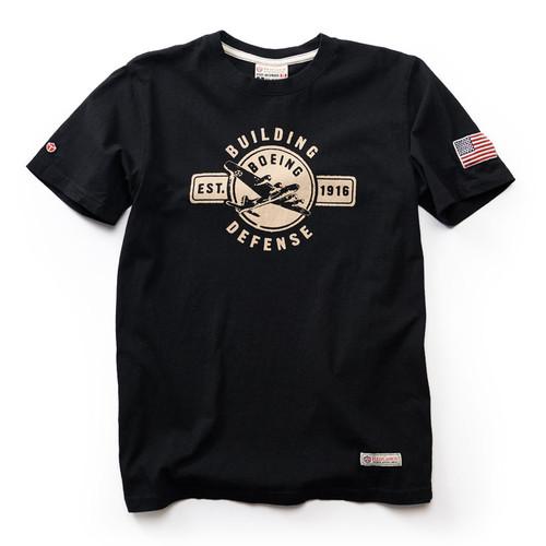Boeing Building Defense T-Shirt - Black