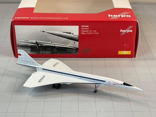 Herpa 1:400 Aeroflot Tupolev TU-144