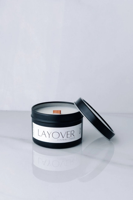 Contrail Candles - Layover Scent - 4oz
