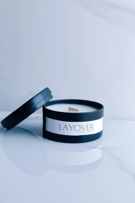 Contrail Candles - Layover Scent - 6oz