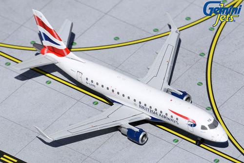 Gemini Jets 1:400 British Airways CityFlyer Embraer 170