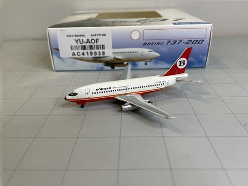 Aeroclassics 1:400 Bouraq Indonesia Airlines 737-200 (Aviogenex Livery)