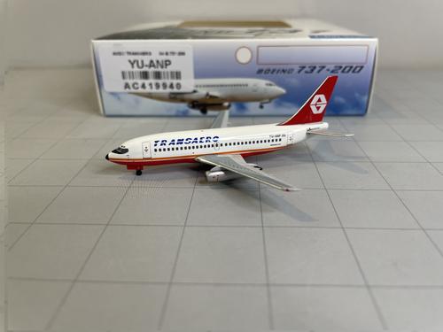 Aeroclassics 1:400 Transaero 737-200 (Aviogenex Livery)