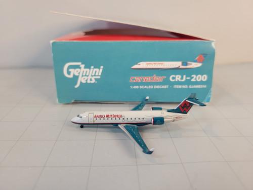Gemini Jets 1:400 America West CRJ-200