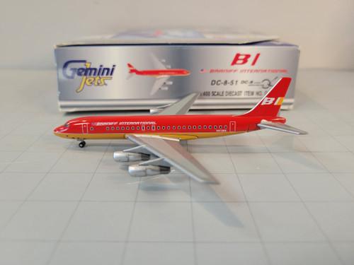 Gemini Jets 1:400 Braniff International DC-8-51 (Red Livery)