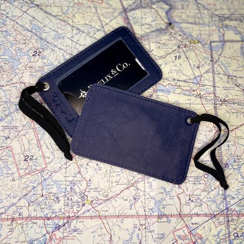 The Tranquilo Luggage Tag - Atlantic Blue