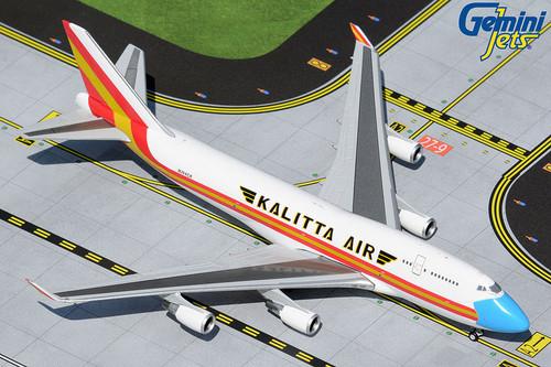 "Gemini Jets 1:400 Kalitta Air 747-400 ""Mask Livery"""